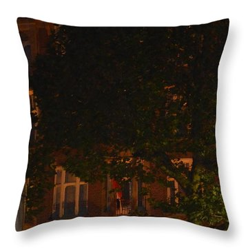 Rembrandt Square Throw Pillow