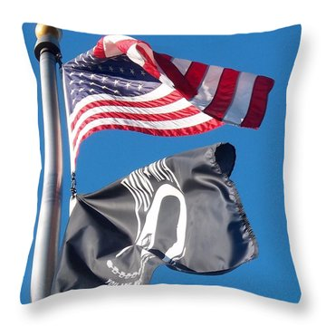 Throw Pillow featuring the photograph Remember by Caroline Stella