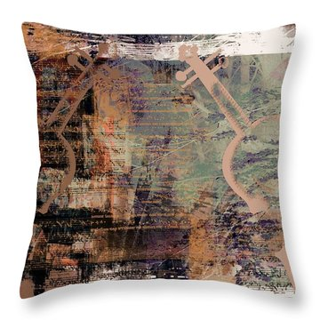 For Grace - Double Violin Concerto Throw Pillow