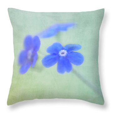 Throw Pillow featuring the photograph Remember Me by Annie Snel