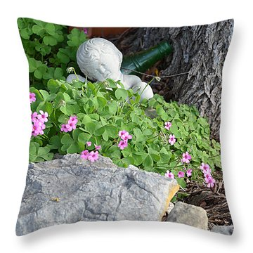 Throw Pillow featuring the photograph Remember Me by Linda Cox