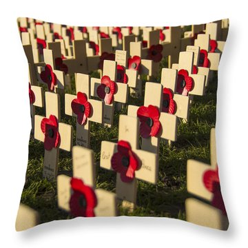 Throw Pillow featuring the photograph Rememberance by Ross G Strachan