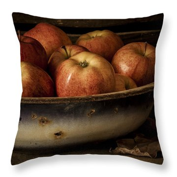 Remembering Autumn Throw Pillow by Amy Weiss