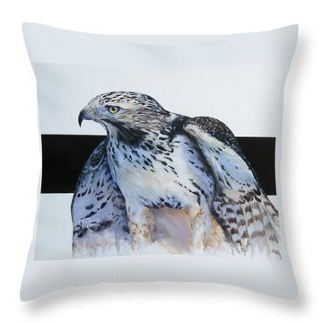 Remembering Blanco Throw Pillow