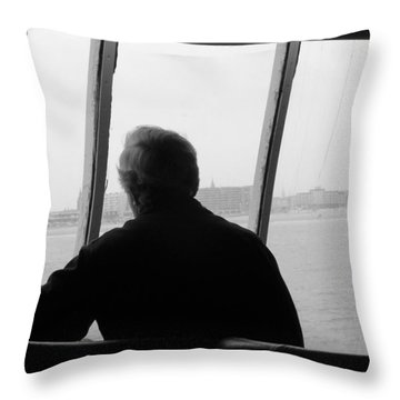 Throw Pillow featuring the photograph Remembering Calais by Meaghan Troup
