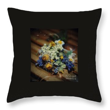Remembering July Throw Pillow