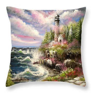 Remembering Throw Pillow by Patrice Torrillo