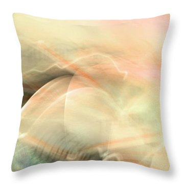 Remembrance - Pink Throw Pillow