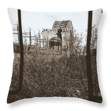 Reminiscent Of Earlier Travel Throw Pillow by James Aiken