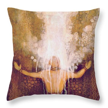 Remnant In The Mist Throw Pillow