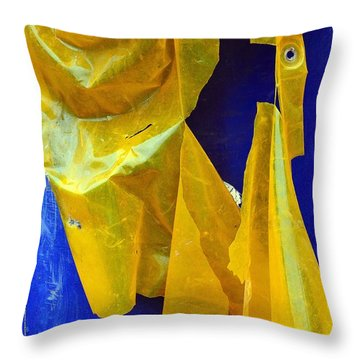 Remnant Throw Pillow by Lauren Leigh Hunter Fine Art Photography