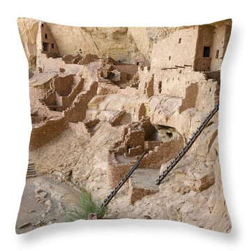 Remnants Of Civilization Throw Pillow