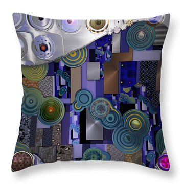Remodern Dream Abstractor  Throw Pillow