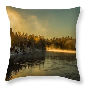 Throw Pillow featuring the photograph Rena  by Rose-Maries Pictures