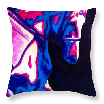 Renaissance Horse Throw Pillow