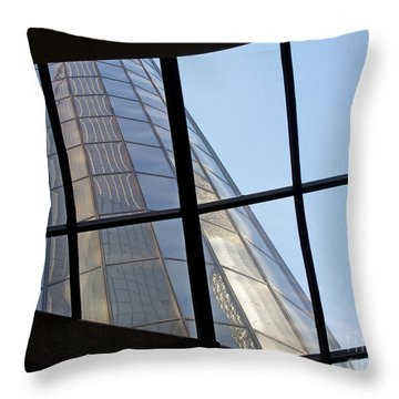 Rencen Skylight Throw Pillow by Ann Horn