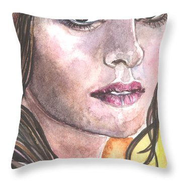 Rene Throw Pillow