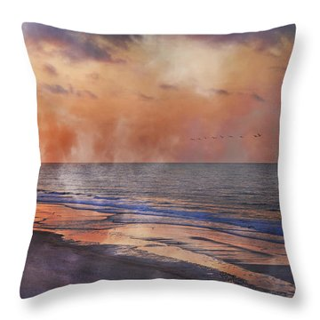 Renewed Throw Pillow by Betsy Knapp