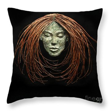 Renewed Solace Throw Pillow by Adam Long