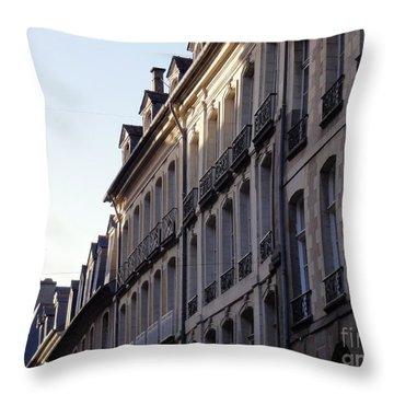 Rennes France 3 Throw Pillow