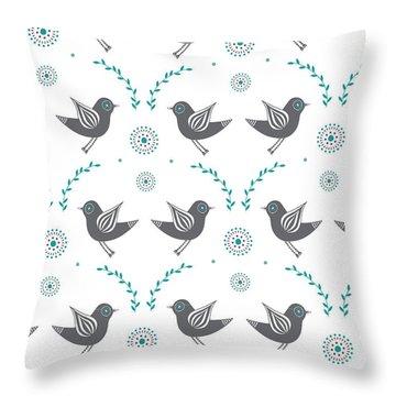 Lovebird Throw Pillows