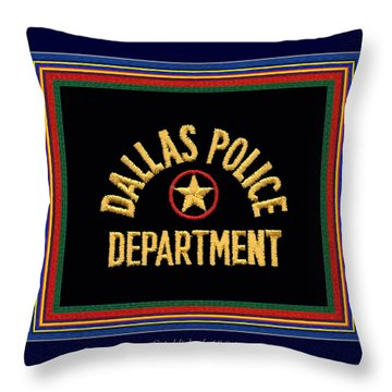 Replica Dpd Patch With Epaulette Colors Throw Pillow