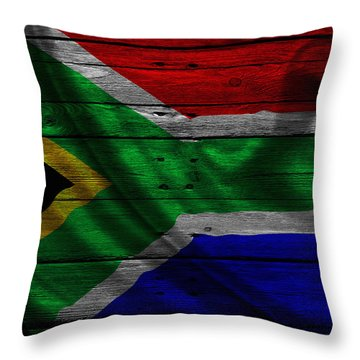 Republic Of South Africa Throw Pillow