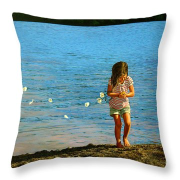 Rescuer Throw Pillow