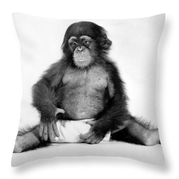 Yale University Throw Pillows