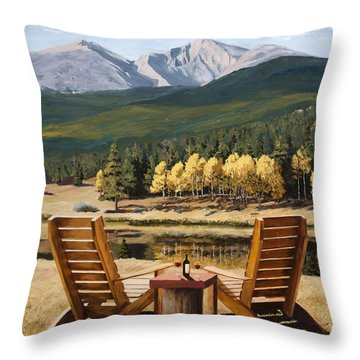 Reserved Throw Pillow