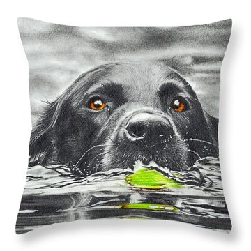 Reservoir Dog Throw Pillow