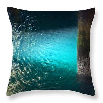 Resonance Throw Pillow by Gwyn Newcombe