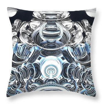 Resonators Throw Pillow