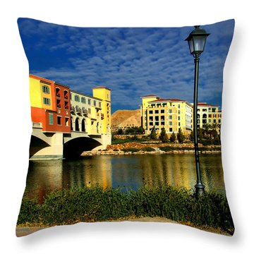 Resort In Henderson Nevada Throw Pillow