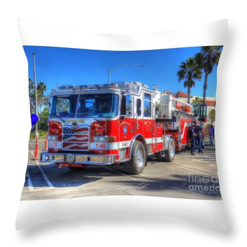 Throw Pillow featuring the photograph Respect by Kevin Ashley