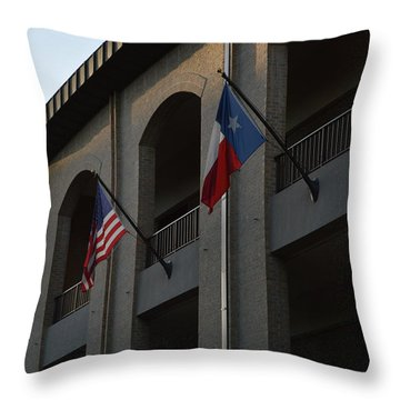 Throw Pillow featuring the photograph Respect by Shawn Marlow