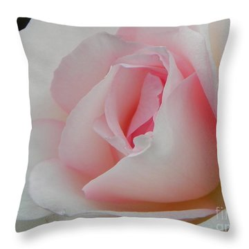 Throw Pillow featuring the photograph Resplendent by Deb Halloran