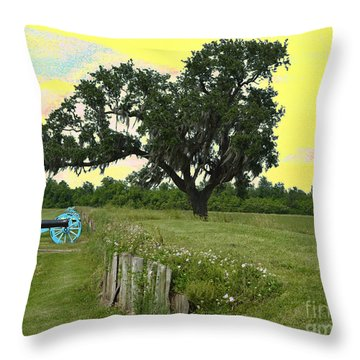 Rest In Peace 2 Throw Pillow by Alys Caviness-Gober