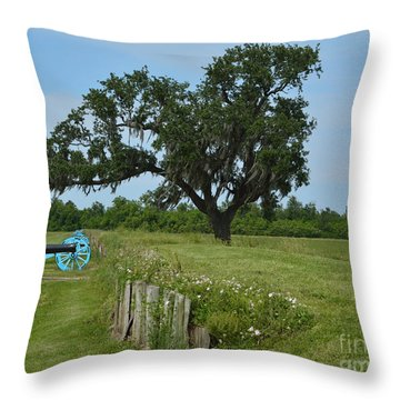 Rest In Peace Throw Pillow by Alys Caviness-Gober