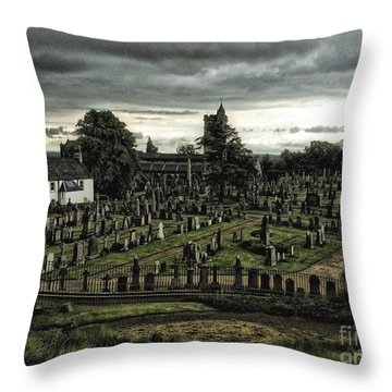 Rest In Peace Throw Pillow