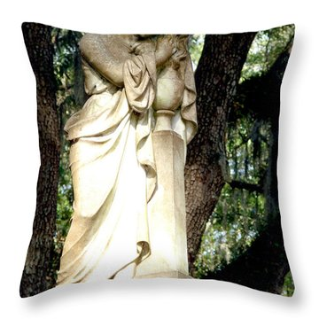 Restful Guardian Throw Pillow