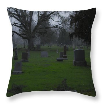 Restful Night Throw Pillow by Jean Noren