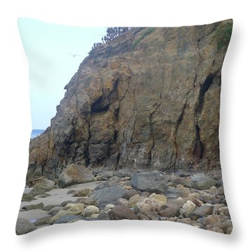 Throw Pillow featuring the photograph Resting Elephant by Nora Boghossian