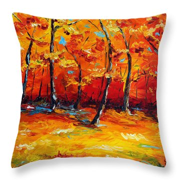 Resting In Your Shadow Throw Pillow