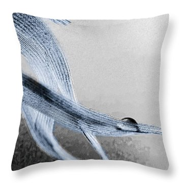 Resting On A Feather Throw Pillow by Bob Orsillo