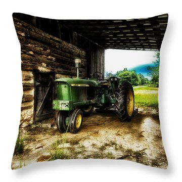 Resting Until The Next Time Throw Pillow