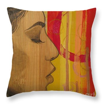 Restless In Wonderment 3 Throw Pillow