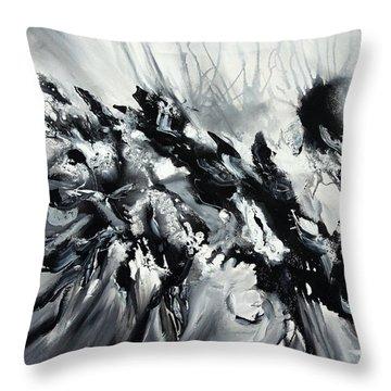 Restless Throw Pillow