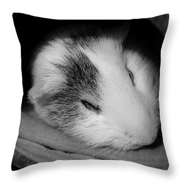 Restless Sleep Throw Pillow
