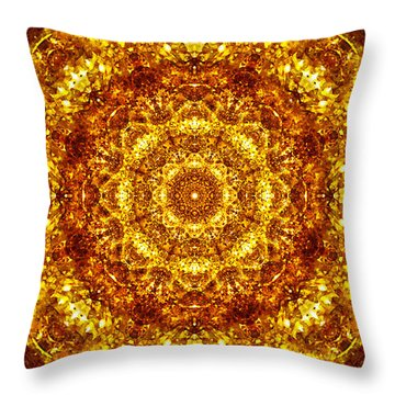 Throw Pillow featuring the digital art Restoring Clarity by Jalai Lama